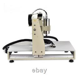 4 Axis USB CNC 6040 Router Engraver VFD 1.5KW Cutter Mill Machine + Controller