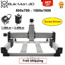 4 Axis Workbee CNC Router Machine Kit DIY CNC Mill Carving Engraver Machine