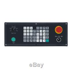 4 axis CNC milling controller for router machine G code control panel ATC PLC
