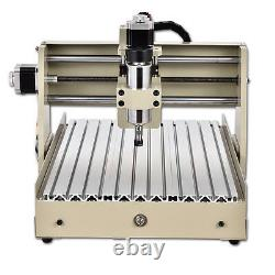 400W 4 Axis 3040 CNC Router Engraver Engraving Drilling Mill Desktop Machine US