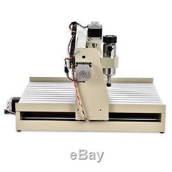 400W CNC Router Engraver Carving Cutting Milling Drilling Machine 4 Axis 3040 US