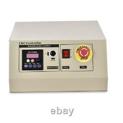 4AXIS CNC 6040T USB Router Engraver Wood Drill Milling Machine 1500W VFD+RC USA