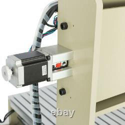 4Axis CNC 6090 Router Engraving Machine Engraver Milling Cutter Ball Screws+RC