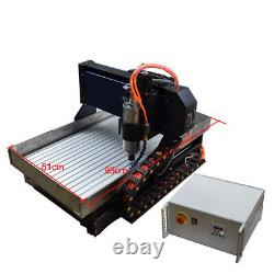 4Axis CNC6040 Router Steel Cutting Engraving Milling Machine Engraver For Metal
