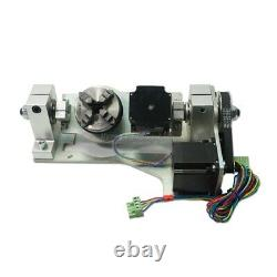 4th 5th Axis Rotary Rotation Axis for Mini CNC Milling Machine Wood Router