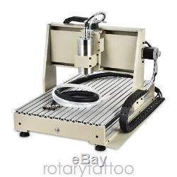 5 Axis CNC 6040 Router USB 1.5kW Engraver Engraving Cutting Milling Machine