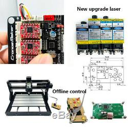 5500mW Laser Head CNC3018 DIY Router Kit Laser Engraving Milling Machine 3 Axis