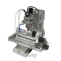 5Axis CNC3040 Engraver 2200W Engraving Carving Cutter Router Milling DIY Machine