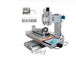 6040 5 axis mini cnc milling machine high performance 1500W router Russia free t