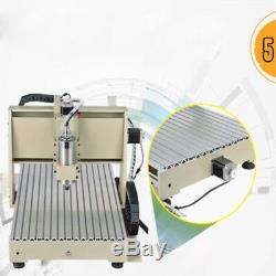 6040 USB 4AXIS CNC Router Engraver 1.5KW VFD Carve Mill Metalwork Cutter Machine