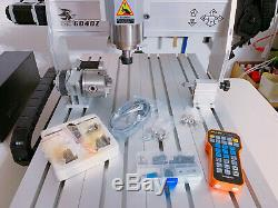6040Z 2200w 4 Axis X Y Z A. CNC Router Engraver Milling Machine Local Pickup