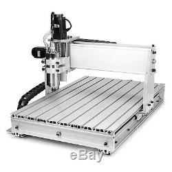 6040z Engraving Machine 4 Axis Engraver Usb Cnc Router Woodwork Milling Kit