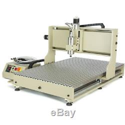 6090 USB 4 Axis CNC Router Engraver 2200W Metal Drill/Engraving Milling Machine