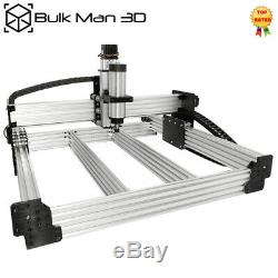 7501000mm WorkBee CNC Router Machine 4 Axis Screw Driven Mill + Cable Chain Kit