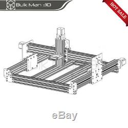 750750mm WorkBee CNC Router Machine Kit 4 Axis CNC Engraving Mill Screw Driven