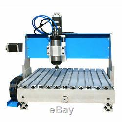 800W 3 Axis 3040 CNC Router Engraver Milling Machine Engraving Drilling Desktop