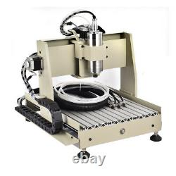 800W 4Axis 3040 CNC Router Engraver Engraving Machine Milling Drilling VFD USA