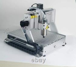 800W Spindle 4 Axis CNC 3040 Router Milling Drilling Engraving Machine MACH3