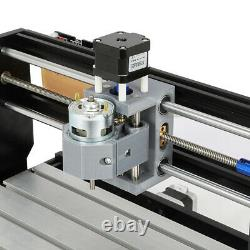 CNC 3 Axis ER11 3018 DIY Router Kit Laser Engraving Milling Machine GRBL Control