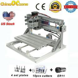CNC 3018 3 Axis Engraver Machine For PCB Wood Carving DIY Milling Router Kit US