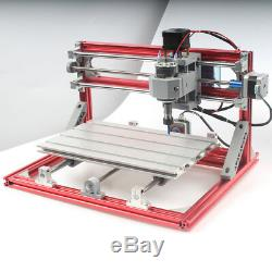 CNC 3018 3Axis Machine Engraving PCB Wood Carving DIY Milling Router Kit Sliver