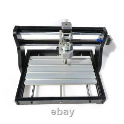 CNC 3018 DIY 3Axis Laser Router Engraving+500MW Module Wood Mill Cutting Machine