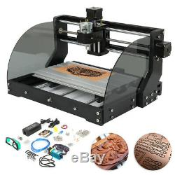 CNC 3018-MX3 Machine Router 3 Axis Engraving PCB Wood DIY Mill+500mw Laser Head