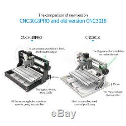 CNC 3018 Machine Router 3 Axis Engraving PCB Wood DIY Milling Engraver