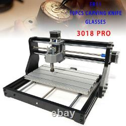 CNC 3018 PRO Machine 2IN1 Router 3 Axis Engraving 3D PCB DIY Milling+ 2.5W Laser