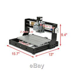 CNC 3018 PRO Machine Router 3 Axis Engraving Wood PCB DIY Mill+2500mw Laser Head