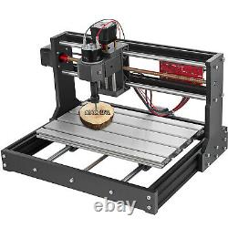 CNC 3018 Pro Router Kit 3 Axis Engraving Milling Machine 0.5W Laser GRBL&Offline
