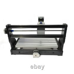 CNC 3018PRO Machine Router 3Axis Engraving PCB Wood DIY Mill Laser Engraver ER11
