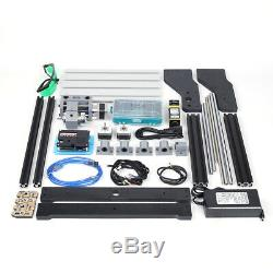 CNC 3018Pro DIY Router Laser Engraving Machine Milling 3 Axis + 500mW Laser Head