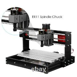 CNC 3018Pro GRBL Control 3 Axis Pcb Milling Machine Router Engraver 500mw Laser