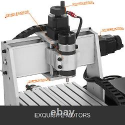 CNC 3020 Router KIT 4 Axis CNC Engraver Milling Machine Woodworking USB Port USA