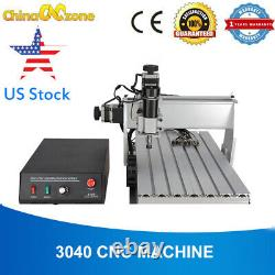 CNC 3040 3Axis Milling Engraving Machine 500W USB Mach3 Wood Router DIY US Stock
