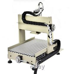 CNC 3040 4-axis CNC Router Engraver 800W Milling Engraving Machine USB Control