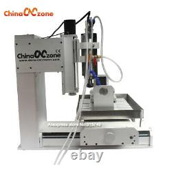 CNC 3040 5 Axis Engraver 2200W Router Engraving Carving Metal Milling Machine