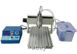 CNC 3040 Router Milling Engraving Machine Wood Metal Carving+4th Axis 50MM Chuck
