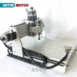 CNC 3040Z-DQ 3 Axis 500W Spindle Router Engraver Milling Machine Kit Upgrade US
