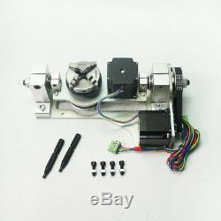 CNC 4th 5th Axis Rotary Table A B Axis DIY CNC Machine Milling Router Parts