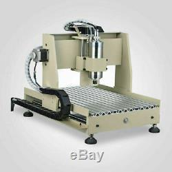 CNC 6040 4 Axis 800W Router USB Port Engraving DIY Cutting Milling Machine With RC