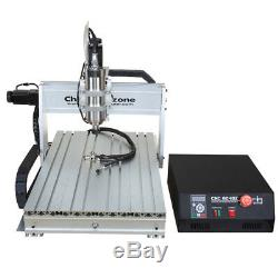 CNC 6040 4Axis 2200W Engraver Router Engraving Cutting Milling DIY Machine US
