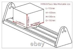 CNC 6040 5axis Router 2.2KW Mach3 USB Carving Engraving Milling For Aluminum US