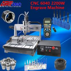 CNC 6040Z 4 Axis USB Router Engraver Engraving Drilling Milling Machine USA SHIP