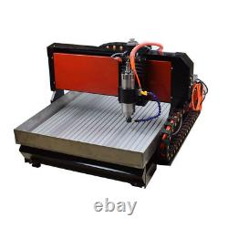CNC 6090 3-axis 2200W Router Steel Metal Engraver Engraving Milling Machine