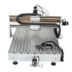 CNC 6090 4axis 2.2KW USB Port Milling Engraving DIY CNC Cutting Machine Router