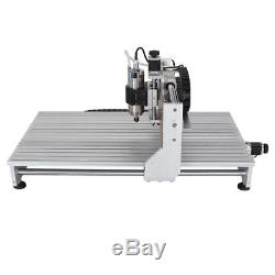 CNC 6090 4axis 2.2kW USB Port Router Milling Engraving DIY CNC Cutting Machine