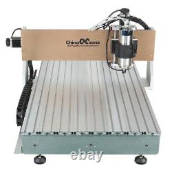 CNC 6090 Router Milling Engraving Machine 3axis 1500W DIY CNC Cutting Router