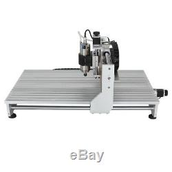 CNC 6090 Router Milling Engraving Machine 4axis 2200W DSP DIY Cutting Machine